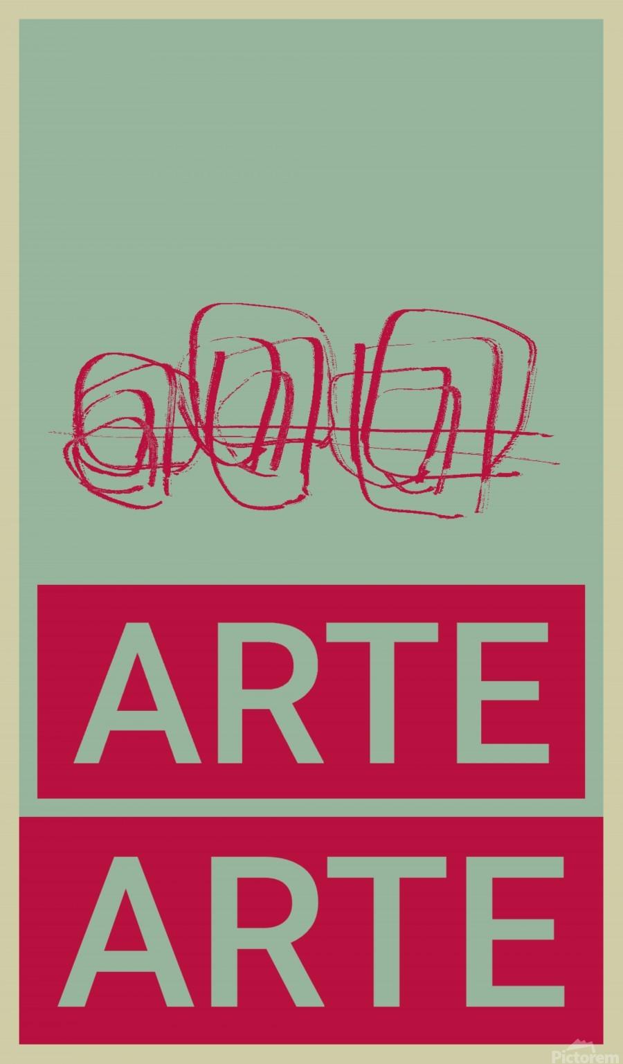 ARTE -4   Print